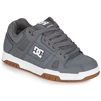 Scarpe Uomo Scarpe da Skate DC Shoes STAG Grigio / Gum