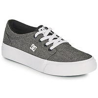Scarpe Bambino Scarpe da Skate DC Shoes TRASE B SHOE XSKS Grigio
