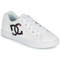 Scarpe Donna Scarpe da Skate DC Shoes CHELSEA J Bianco / Rosa