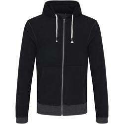 Abbigliamento Uomo Felpe Ecologie EA051 Nero/Carbone