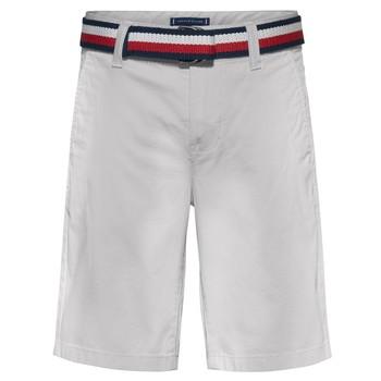 Abbigliamento Bambino Shorts / Bermuda Tommy Hilfiger FORTA Bianco