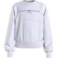 Abbigliamento Bambina Felpe Tommy Hilfiger THUBOR Bianco