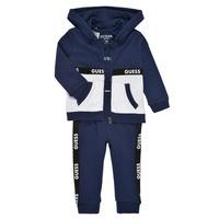 Abbigliamento Bambino Completo Guess P1RG00-KA6W0-DEKB Marine