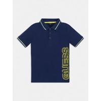 Abbigliamento Bambino Polo maniche corte Guess L1GP00-KADZ0-DEKB Marine