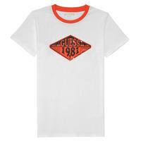 Abbigliamento Bambino T-shirt maniche corte Guess L1GI09-K8HM0-TWHT Bianco