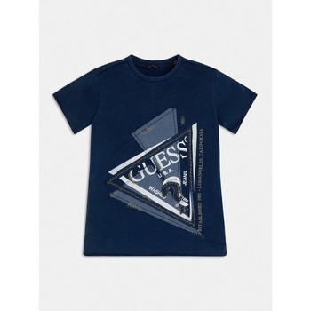Abbigliamento Bambino T-shirt maniche corte Guess L1RI15-K8GA0-F233 Blu