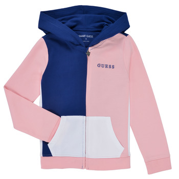 Abbigliamento Bambina Felpe Guess K1RQ00-KA6R0-F672 Bianco / Rosa