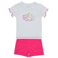 Abbigliamento Bambina Completo Guess A1GG07-K6YW1-TWHT Multicolore