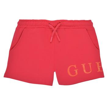 Abbigliamento Bambina Shorts / Bermuda Guess K1GD08-KAN00-C448 Rosa