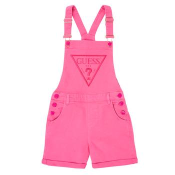 Abbigliamento Bambina Tuta jumpsuit / Salopette Guess J1GK12-WB5Z0-JLPK Rosa