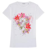 Abbigliamento Bambina T-shirt maniche corte Guess J1RI24-K6YW1-TWHT Bianco