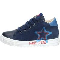 Scarpe Bambino Sneakers alte Naturino 001- 2015378 01 SNEAKERS  Bambino NAVY NAVY