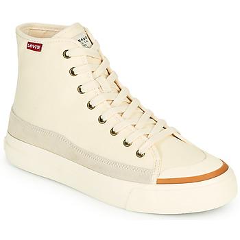 Scarpe Donna Sneakers alte Levi's SQUARE HIGH S Bianco