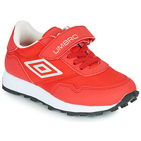 Scarpe Unisex bambino Sneakers basse Umbro KARTS VLC Rosso / Bianco