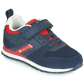 Scarpe Unisex bambino Sneakers basse Umbro JADER VLC Blu / Rosso