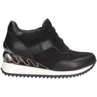 Scarpe Donna Sneakers alte Exé Shoes K34-A864 NERO