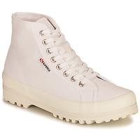 Scarpe Donna Sneakers alte Superga 2341 ALPINA COTU Bianco
