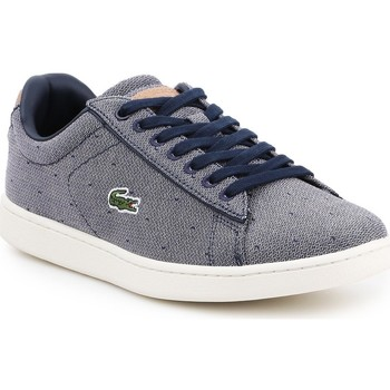 Scarpe Donna Sneakers basse Lacoste Carnaby Evo 218 3 SPW 7-35SPW0018B98 granatowy, white
