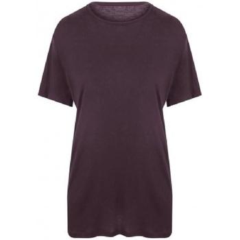 Abbigliamento Uomo T-shirt maniche corte Ecologie EA002 Viola