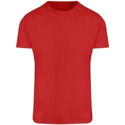 Abbigliamento Uomo T-shirt maniche corte Ecologie EA004 Rosso