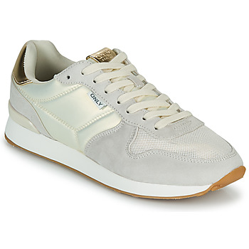 Scarpe Donna Sneakers basse Only SAHEL 4 Beige / Oro