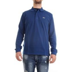 Abbigliamento Uomo Polo maniche lunghe Lacoste L1312 00 Polo Uomo blu medio blu medio