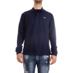 Abbigliamento Uomo Polo maniche lunghe Lacoste L1312 00 Polo Uomo blu blu