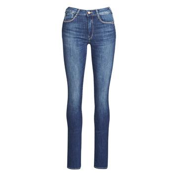 Abbigliamento Donna Jeans dritti Le Temps des Cerises PULP HIGHREG Blu / Clair