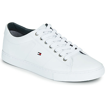 Scarpe Uomo Sneakers basse Tommy Hilfiger ESSENTIAL LEATHER SNEAKER Bianco