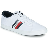 Scarpe Uomo Sneakers basse Tommy Hilfiger ESSENTIAL STRIPES DETAIL SNEAKER Bianco
