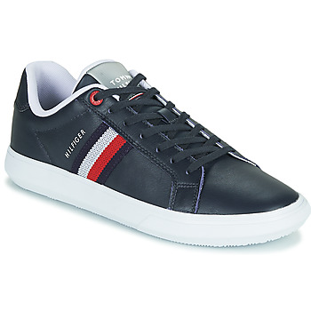 Scarpe Uomo Sneakers basse Tommy Hilfiger ESSENTIAL LEATHER CUPSOLE Marine