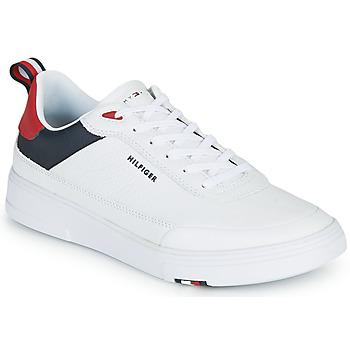 Scarpe Uomo Sneakers basse Tommy Hilfiger MODERN CUPSOLE LEATHER Bianco