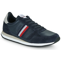 Scarpe Uomo Sneakers basse Tommy Hilfiger RUNNER LO LEATHER STRIPES Marine