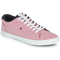 Scarpe Uomo Sneakers basse Tommy Hilfiger ESSENTIAL CHAMBRAY VULCANIZED Rosa