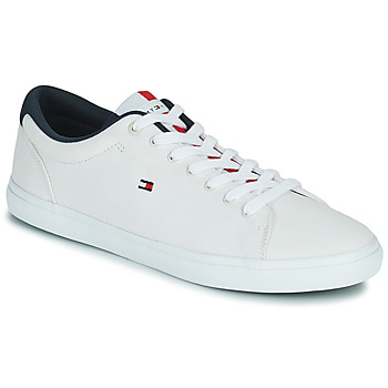 Scarpe Uomo Sneakers basse Tommy Hilfiger ESSENTIAL CHAMBRAY VULCANIZED Bianco