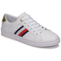 Scarpe Donna Sneakers basse Tommy Hilfiger TH CORPORATE CUPSOLE SNEAKER Bianco