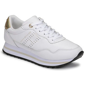 Scarpe Donna Sneakers basse Tommy Hilfiger LIFESTYLE RUNNER SNEAKER Bianco