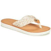 Scarpe Donna ciabatte Tommy Hilfiger LEATHER FOOTBED TH BEACH SANDAL Bianco