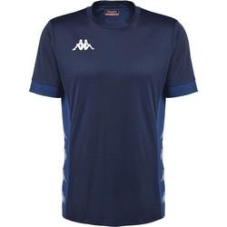 Abbigliamento T-shirt maniche corte Kappa Maillot  dervio violet