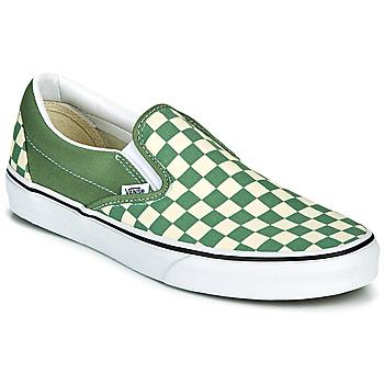 Scarpe Uomo Slip on Vans CLASSIC SLIP ON Verde