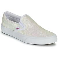 Scarpe Donna Slip on Vans CLASSIC SLIP ON Uv / Glitter / Beige / Rosa