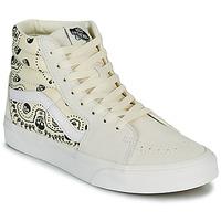 Scarpe Sneakers alte Vans SK8 HI Beige / Nero