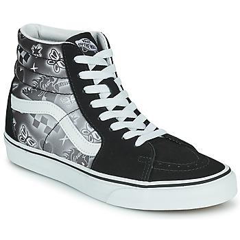 Scarpe Donna Sneakers alte Vans SK8 HI Nero / Bianco