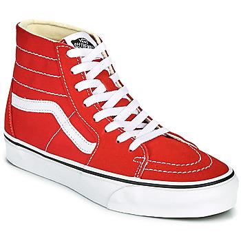 Scarpe Sneakers alte Vans SK8 HI TAPERED Rosso