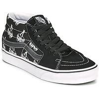Scarpe Sneakers alte Vans SK8 MID Nero / Bianco