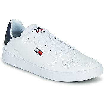 Scarpe Uomo Sneakers basse Tommy Jeans TOMMY JEANS ESSENTIAL CUPSOLE Bianco
