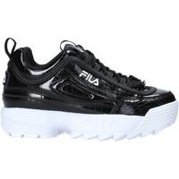 Scarpe Unisex bambino Sneakers Fila 1011081 Nero