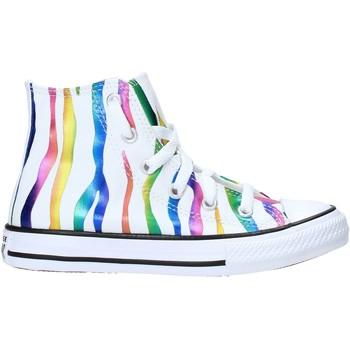 Scarpe Unisex bambino Sneakers Converse 667600C Bianco