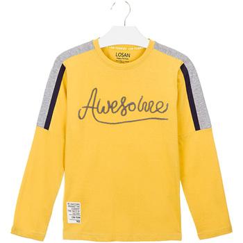Abbigliamento Unisex bambino T-shirt & Polo Losan 023-1008AL Giallo