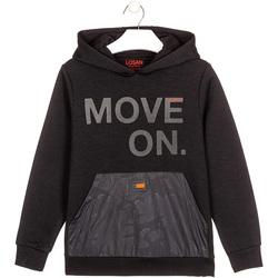 Abbigliamento Unisex bambino Felpe Losan 023-6006AL Nero